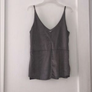 Stella Luce suede tank top